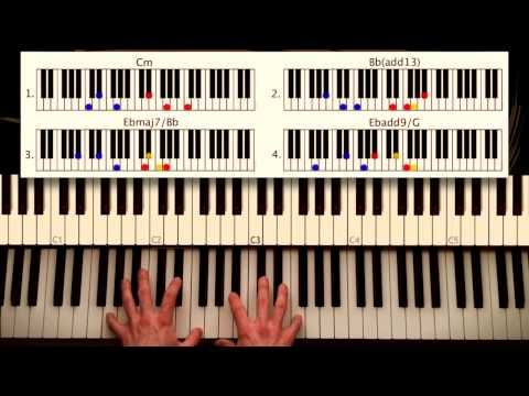 How to play: I Stand Alone - Robert Glasper ft. Common. Original Piano Couture lesson, tutorial. mp3