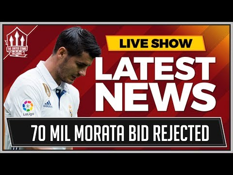 MORATA 70 Million MAN UTD Bid Rejected! | MAN UTD Transfer News