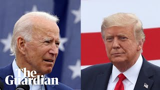 Joe Biden and Donald Trump face off in first presidential debate - watch live