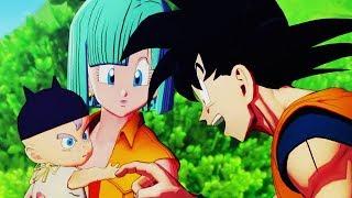 NEW Dragon Ball Z Kakarot - Goku Meets Baby Trunks + Android 19 & 20 Gameplay Screenshots