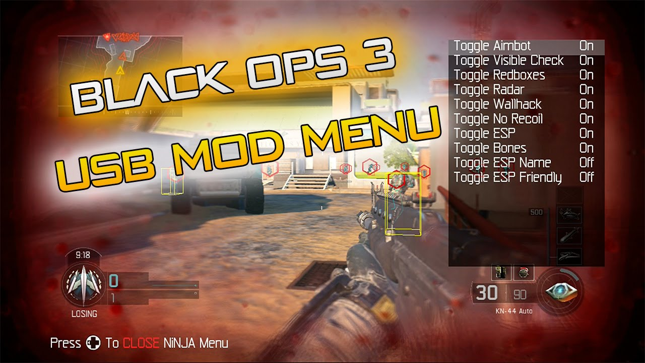 Black Ops 3 USB Mod Menu w/ Download For PS4, Xbox One ...