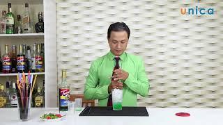 Bài 64 Cách làm soda menthe green