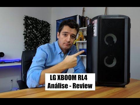 LG Xboom RL4 - Análise / Review