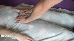 Amateur Romantic Massage  - European Babe under hairy Blanket