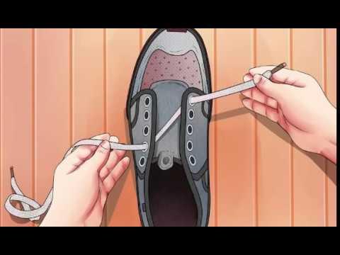 Вот как Правильно Завязывать Шнурки, чтобы ногам было удобней!