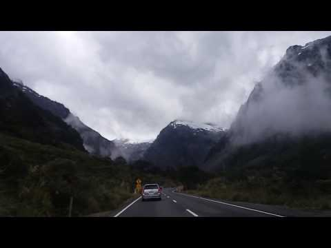 Queenstown to Milford Sound (NZ) - the most beautiful drive ever