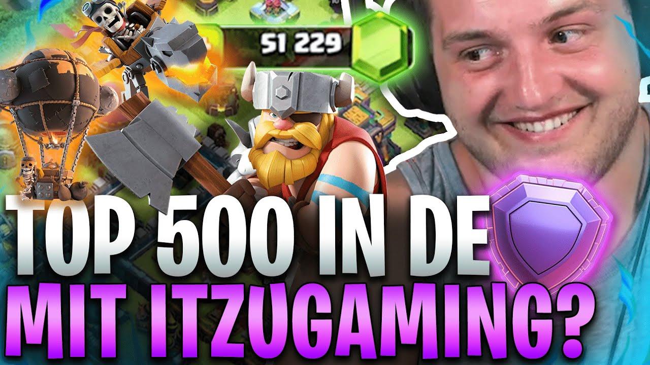 💸😎PAYMACS im NEUEN XXL CLASH of CLANS Sommer UPDATE! | ROAD to Top 500 DE mit @iTzu Gaming