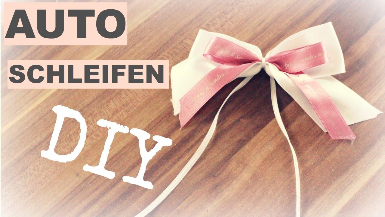 Diy Autoschleifen Schleifen Binden Hochzeitsvorbereitung Braut