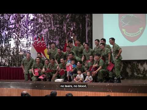Citizen Soldiers: 803 SIR MINDEF Reserve Parade