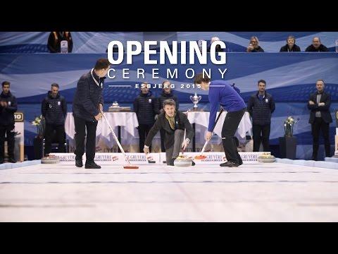 Danish Prince Opens European Curling Championships 2015