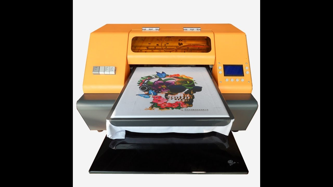 d2a794fa DTG Printer,T-shirt Printer--How to print on T-shirt directly? by TODOJET  UV&DTG Factory