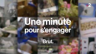 """""""Une minute pour s'engager"""" : Vépluche sur FRANCE 2, par BRUT"""