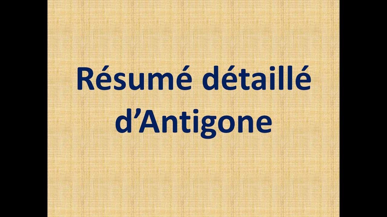 Résumé détaillé d\'Antigone - Regional 1er bac - YouTube