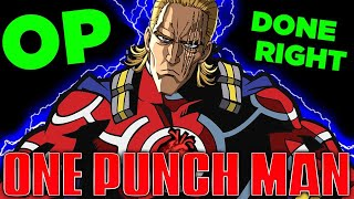 The All Might of One Punch Man