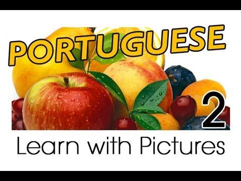 Vui học tiếng Bồ chủ đề trái cây