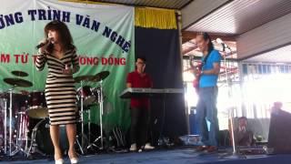 Ca sĩ Hương Vernet-Khát Vọng ( St: Phạm Minh Tuấn )