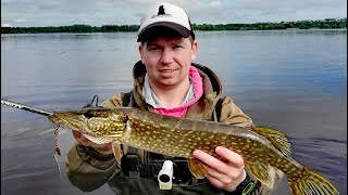 Ловля ЩУКИ летом на спиннинг Рыбалка 2020