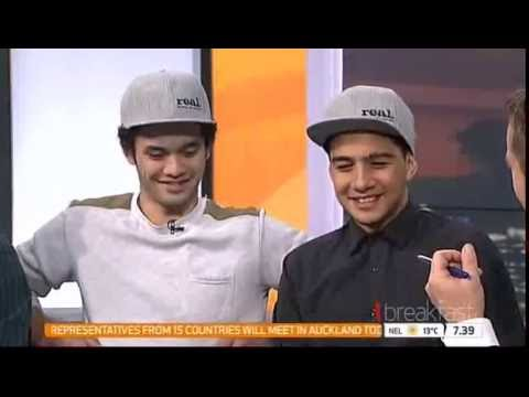 Interview about The Message on TV One's Breakfast show