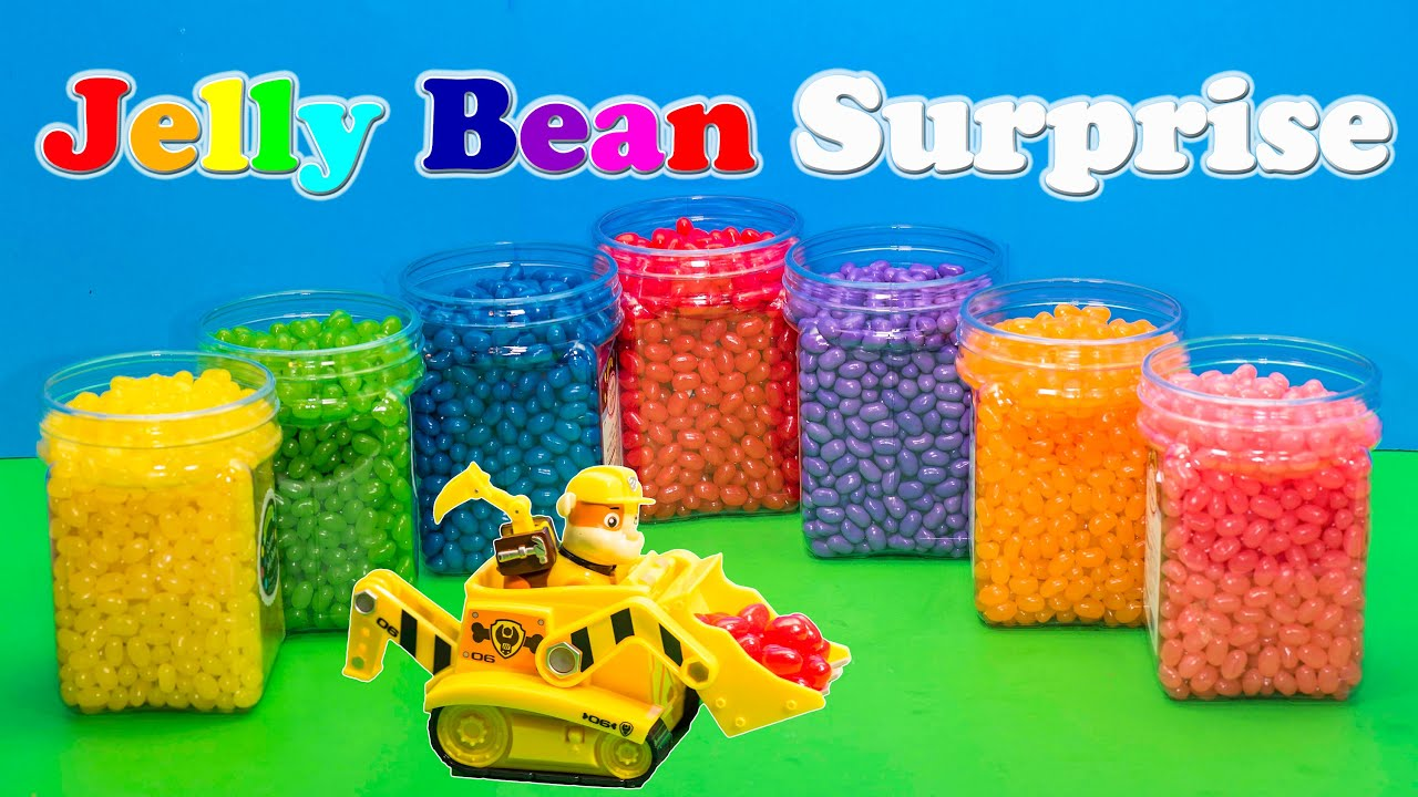 The Assistant Funny Jelly Bean Surprise with Paw Patrol and other