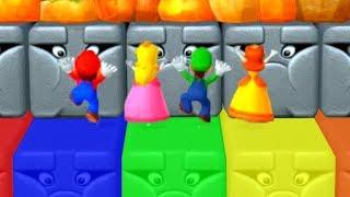 Mario Party 10 - Minigames - Mario vs Peach vs Luigi vs Daisy (Master CPU)