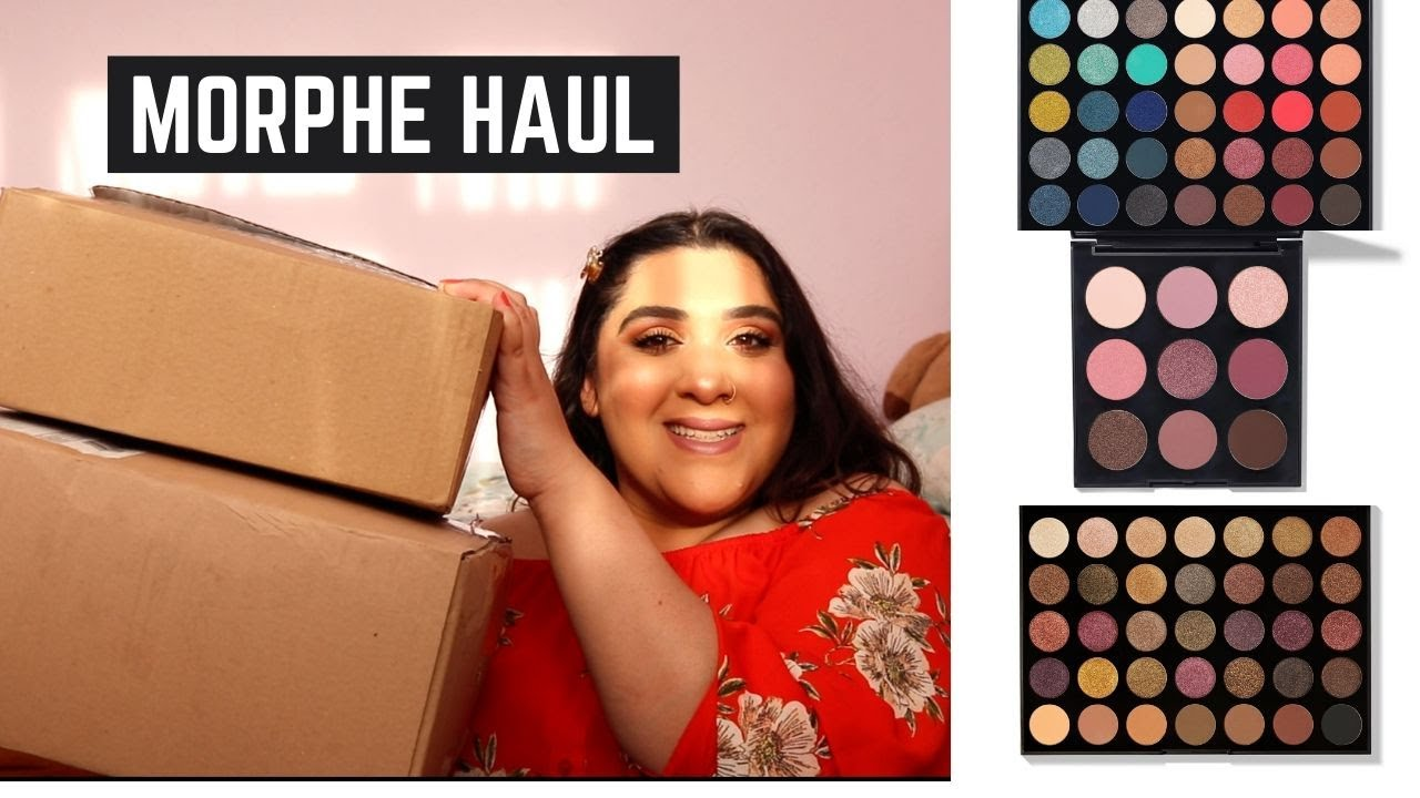 Morphe Unboxing | James Charles x Morphe | £100+ Makeup Haul | Daily with Dils