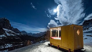 Starlight Room in The Dolomites Mountains, Cortina, Italy