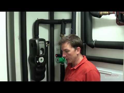 Stiebel Eltron heat pump and solar installation