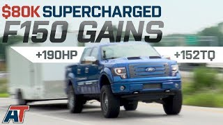 500 RWHP 5.0L Roush Supercharged F150 Gains 190 HP + Towing & Dyno Review of 2012 F150 Tuscany FTX