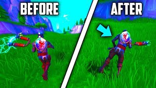 New Fortnite Glitch - How To Become Sideways - Troll Friends - (fortnite Seson 8 Glitches)