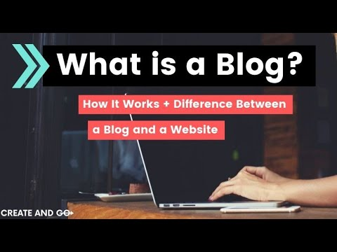 What is a Blog? How It Works and the Difference Between a Blog and a Website