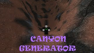 Roblox Script Showcase Episode#733/Canyon Generator