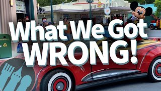 5 Things We Got Totally Wrong About Disney World's Reopening!