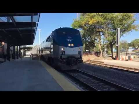 AMTRAK Texas Eagle -  Bloomington-Normal IL