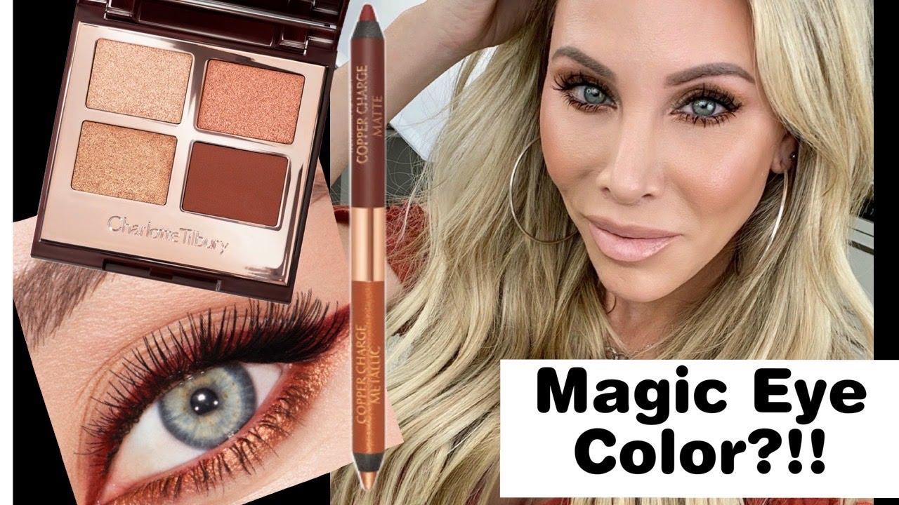 "NEW! CHARLOTTE TILBURY ""Eye Colour Magic"" Luxury Eyeshadow Tested | Copper Charge"