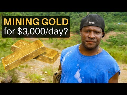 Mining Gold for $3,000/day?