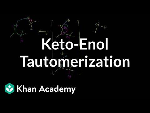 keto-enol-tautomerization-(by-sal)-|-alpha-carbon-chemistry-|-organic-chemistry-|-khan-academy