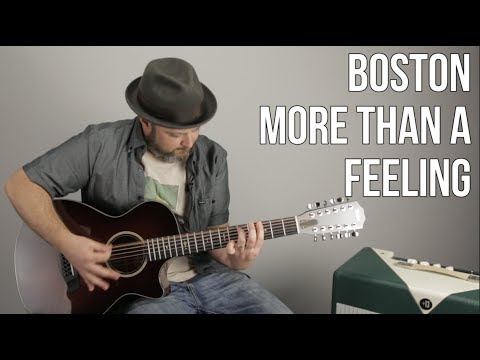 Guitar Lesson for More Than a Feeling  Boston