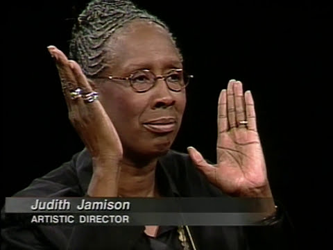 Choreographer Judith Jamison interview (1998)