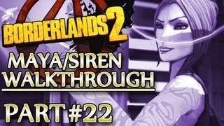 Ⓦ Borderlands 2 Maya/Siren Walkthrough - Part 22 ▪ Sidequests in Lynchwood