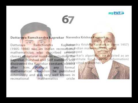 Top 10 Indian Mathematicians of all time