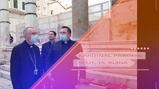Kardinal Parolin u Splitu posjetio katedralu i njenu riznicu