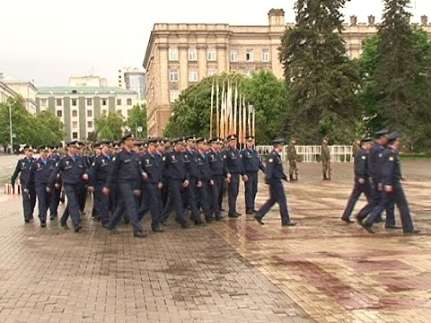 Репетиция Парада Победы в Белгороде