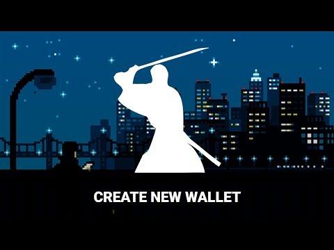 Samourai Wallet Tutorial: Create A New Wallet