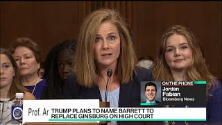 Trump Plans to Name Barrett to Replace Ginsburg on Supreme Court