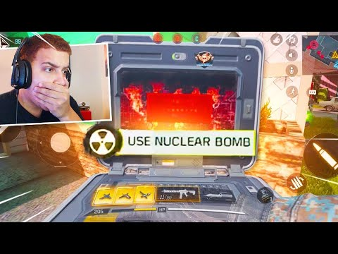 My First TACTICAL NUKE in CALL OF DUTY MOBILE! (Free to Play)