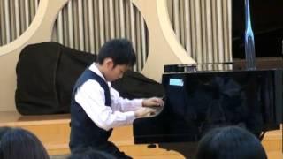 Claude Debussy(德布西)Jardins sous la pluie(雨中庭)(10 yrs old )