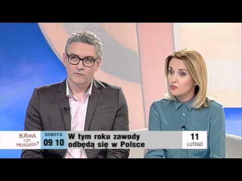 Prof. Bill Poucher and Prof. Jan Madey in Polish Television, TVP1