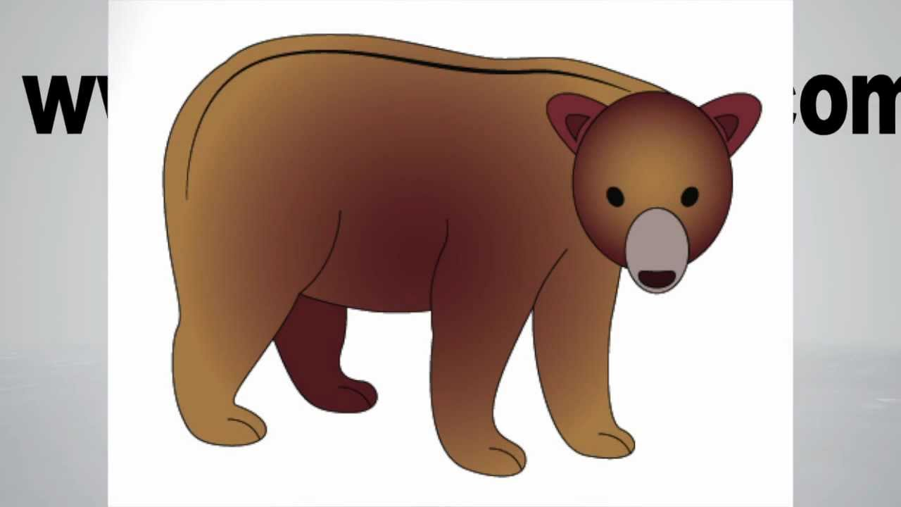 Uncategorized How To Draw A Bear For Kids how to draw a bear step by youtube