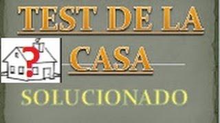 TEST DIBUJA UNA CASA SOLUCION / DIBUJO  CASA CORRECTO / TEST  CASA RESUELTO / DIBUJO CASA SOLUCION
