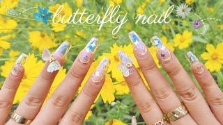 팔랑팔랑 나비네일 ㅣ 파우더 네일 ㅣ Butterfly…